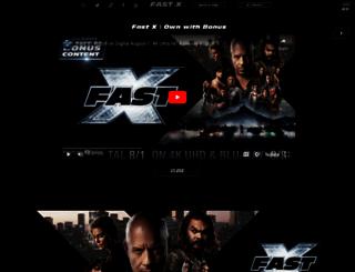 furious7.com screenshot