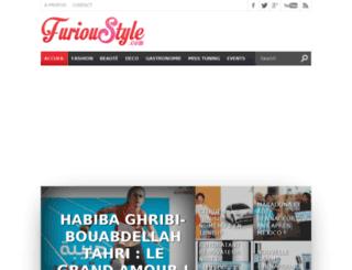 furioustyle.com screenshot