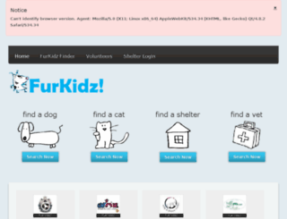 furkidz.co.za screenshot