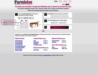furnisize.com screenshot