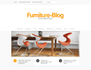furniture-blog.de screenshot