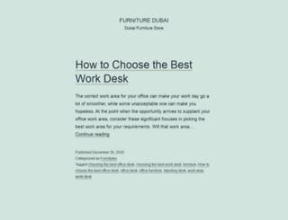 furniture-dubai.ae screenshot