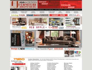 furniture-johannesburg.co.za screenshot