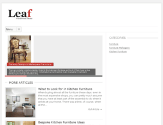 furniture-mahogany.org screenshot