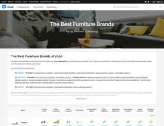 furniture.knoji.com screenshot