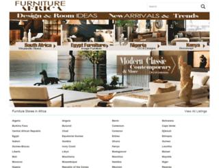 furnitureafrica.com screenshot