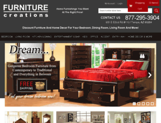 furniturecreations.com screenshot