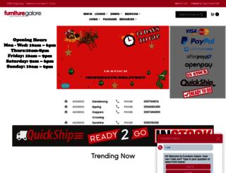 furnituregalore.com.au screenshot
