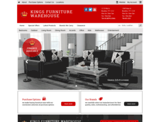 furniturekingny.com screenshot