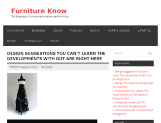 furnitureknow.com screenshot