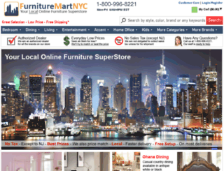 furnituremartnyc.com screenshot