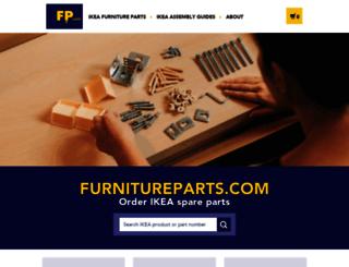 furnitureparts.com screenshot