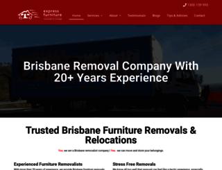 furnitureremovalsinterstate.com.au screenshot