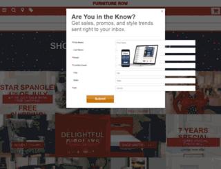 furnituresearch.furniturerow.com screenshot