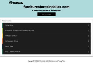 furniturestoresindallas.com screenshot