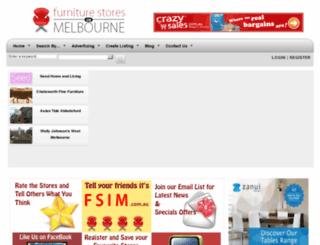 furniturestoresinmelbourne.com.au screenshot