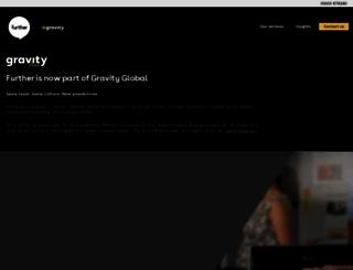 further.co.uk screenshot