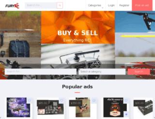 furyrc.com.au screenshot