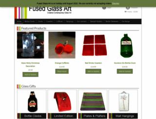 fusedglassart.co.uk screenshot
