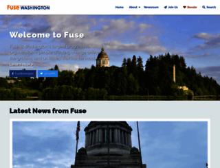 fusewashington.org screenshot