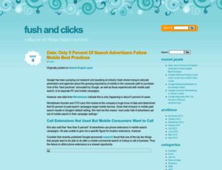 fushandclicks.wordpress.com screenshot
