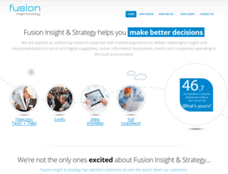 fusion-communications.co.uk screenshot