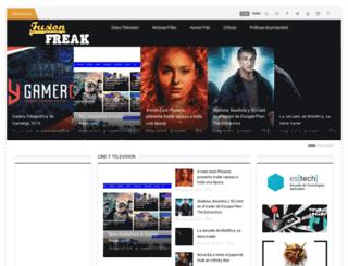 fusion-freak.es screenshot