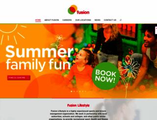 fusion-lifestyle.com screenshot