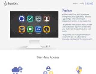 fusion.npglobal.in screenshot