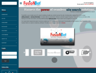 fusionbot.com screenshot