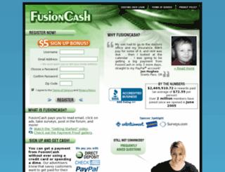 fusioncash.net screenshot