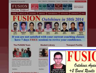 fusioncoaching.in screenshot