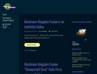 fusionfangaming.spriters-resource.com screenshot