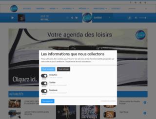 fusionfm.fr screenshot