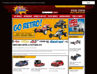 fusionhobbies.com screenshot