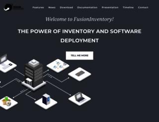 fusioninventory.org screenshot