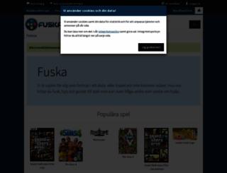 fuska.se screenshot