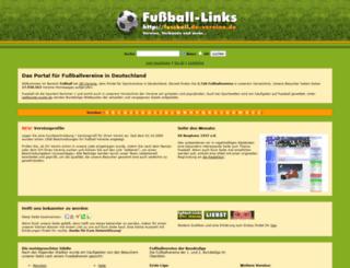fussball.de-vereine.de screenshot