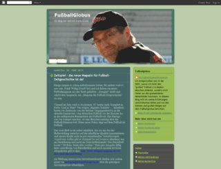 fussballglobus.blogspot.com screenshot