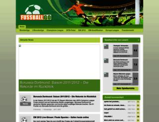 fussballgo.de screenshot