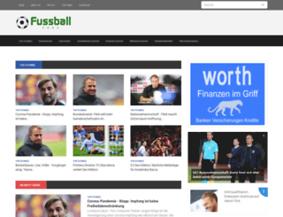 fussballnews.ws screenshot