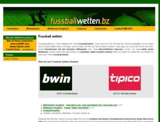 fussballwetten.bz screenshot