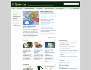 fussballwitwe.com screenshot
