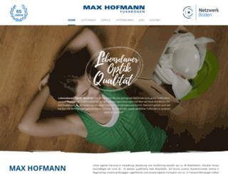 fussboden-hofmann.de screenshot
