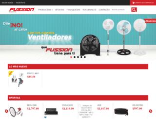 fussionweb.com screenshot