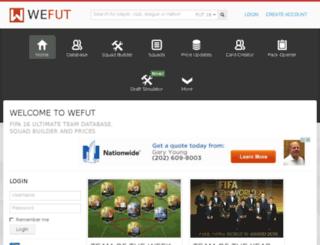 fut15.wefut.com screenshot