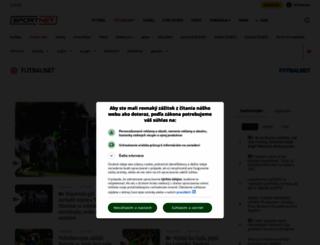 futbalnet.sk screenshot