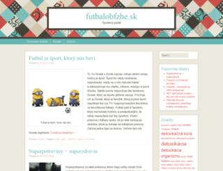 futbalobfzhe.sk screenshot