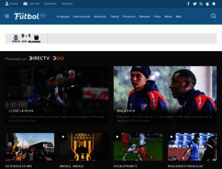 futbol.com.uy screenshot