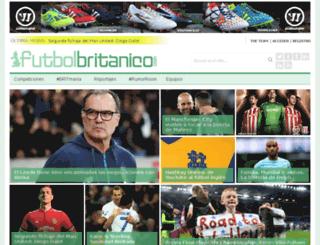 futbolbritanico.es screenshot